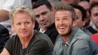 Beckham Gordon Ramsey-vel nyit éttermet