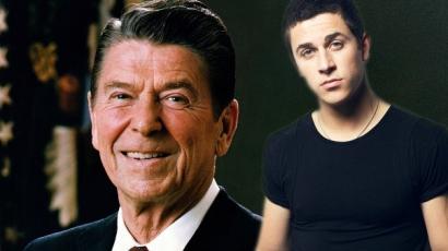David Henrie játssza Ronald Reagant