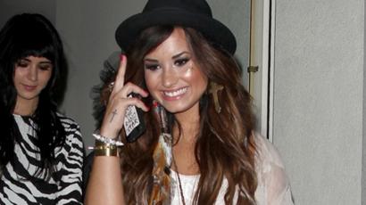 Demi Lovato az alkohol és a drogok ellen