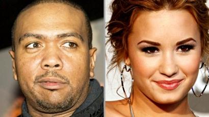 Demi Lovato és Timbaland már együtt dolgozik