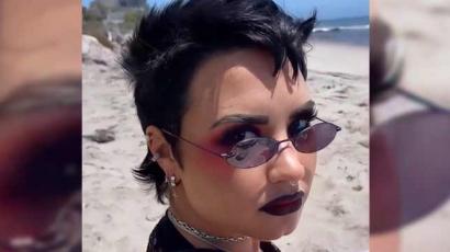 Demi Lovato visszatért az emo stílushoz