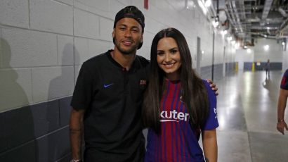 Demi Lovatónak csapja a szelet Neymár?