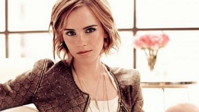 Dívaként pózol Emma Watson viaszbabája