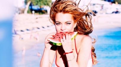 Dögös fotósorozat készült Lindsay Lohanről