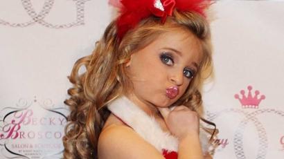 Dollármilliomos a hatéves szépségkirálynő