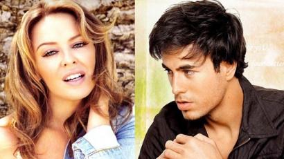 Duettet készített Kylie Minogue és Enrique Iglesias