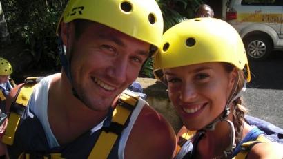 Dukai Regina Balin nyaral a barátjával