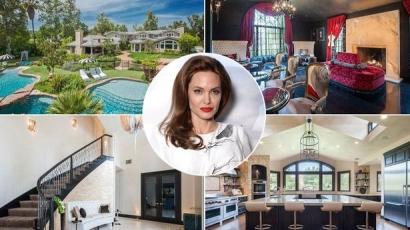Ebbe az impozáns házba költözött Angelina Jolie