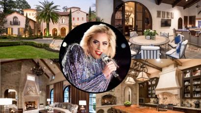 Ebben a luxusvillában húzta meg magát Lady Gaga a Super Bowl előtt és után