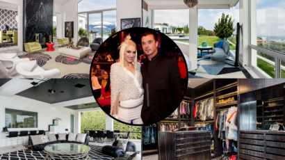 Ebben a mesés villában élt Gwen Stefani Gavin Rossdale-lel