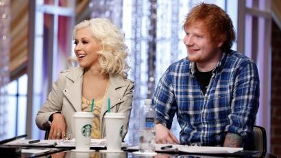 Ed Sheeran és Christina Aguilera közös duettet szeretne