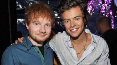 Ed Sheeran már hallotta Harry Styles szólólemezét
