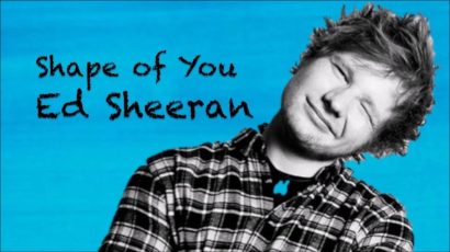 Ed Sheeran rekordot döntött a Shape of You-val