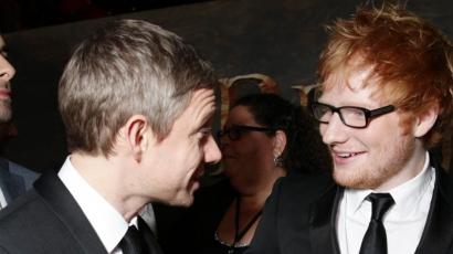 Ed Sheeran részegen jelentkezett A hobbit filmzenéjére