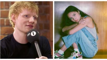 Ed Sheeran szerint Olivia Rodrigo az új Avril Lavigne