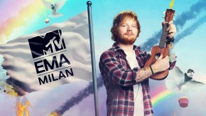 Ed Sheeran vezeti az idei MTV EMA-t
