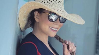 Egy cápa zavarta meg Mariah Carey nyaralását