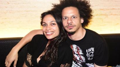 Egy év együttjárás után szakított Rosario Dawson és Eric André