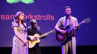 Együtt állt színpadra Justin Timberlake és Anna Kendrick