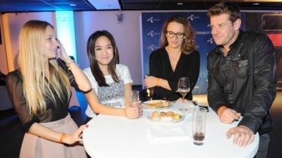 Együtt bulizott Pokorny Lia és Radics Gigi