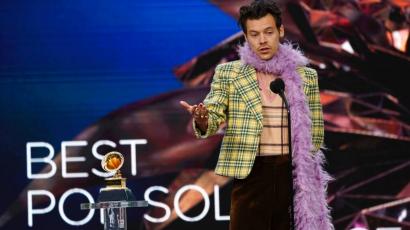 Ekképpen vették át a sztárok a Grammy-díjat: Harry Styles elsírta magát, Beyoncé a legdíjazottabb lett