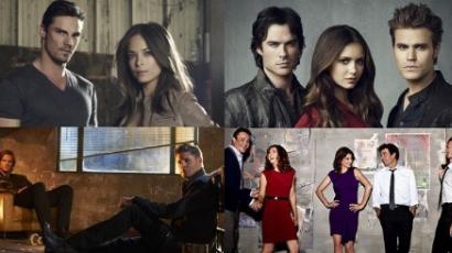 Elbukott és visszatérő sorozatok 2013-ban