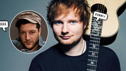 Elfogadták a pert! 20 millió dollárt kell kicsengetnie Ed Sheerannek, mert másolta a slágerét