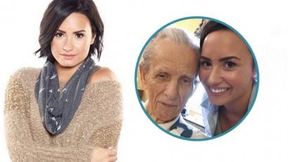 Elhunyt nagyapját gyászolja Demi Lovato