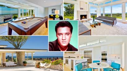 Élj úgy, mint a király! Egymillió forintért kibérelhető Elvis Presley otthona