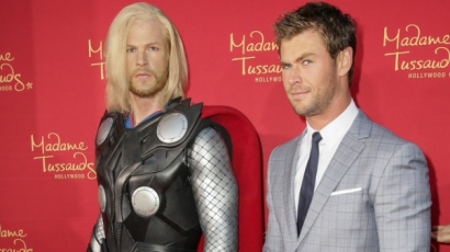 Elkészült Thor viaszfigurája