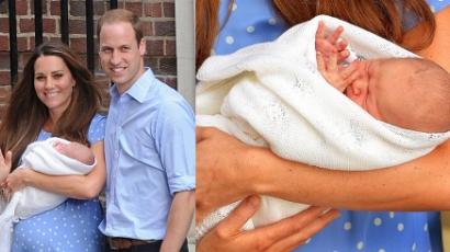 Elnevezte kisfiát a hercegi pár
