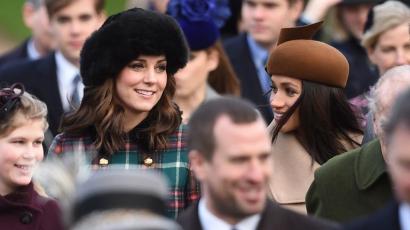 Először jelent meg a nyilvánosság előtt Kate Middleton és Meghan Markle közösen