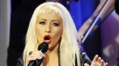 Elrontotta a himnuszt Christina Aguilera