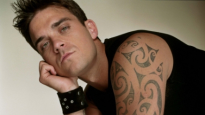 Első fotó Robbie Williams lányáról
