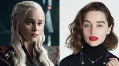 Emilia Clarke tetoválást csináltatott a Trónok harcában játszott szerepe emlékére