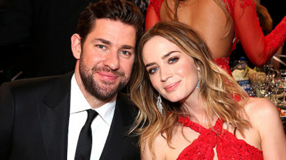 Emily Blunt elárulta, férje, John Krasinski hány alkalommal nézte meg miatta Az ördög Pradát visel című filmet