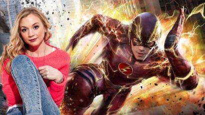 Emily Kinney a The Flashben!
