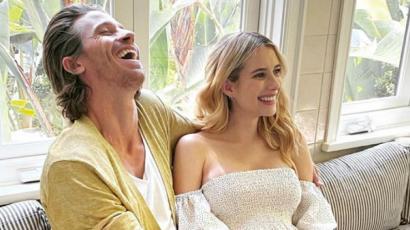 Emma Roberts megmutatta kisbabáját