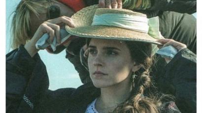 Emma Watson Londonban könyvtündérkedett