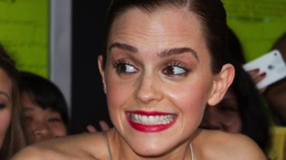 Emma Watson mellet villantott