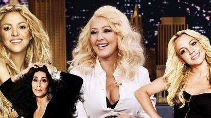 Énekesnőket utánzott Christina Aguilera
