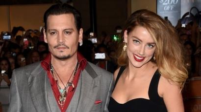 Ennyi asszonytartási díjat követel Johnny Depptől Amber Heard