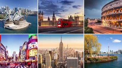 Ennyi ideig kellene spórolnod, hogy lakást vehess a világ legszebb nagyvárosaiban