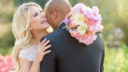 Ennyire gyönyörű volt Szabó Zsófi esküvői fogadalma – videó