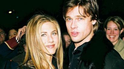 Exekből jóbarátok? Brad Pitt megjelent Jennifer Aniston karácsonyi partiján