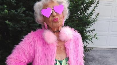 Ez a 90 éves nagyi sokkal menőbb, mint te!