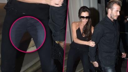 Ez kínos! Victoria Beckham összepisilte magát