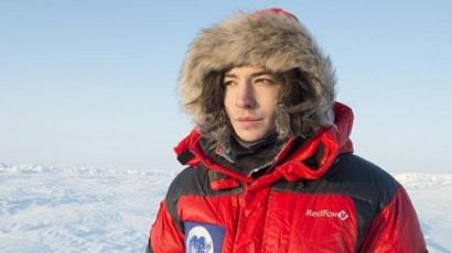 Ezra Miller elért az Északi-sarkra