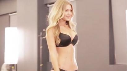 Ezzel a bevonulással lett Victoria's Secret modell Gigi Hadidból - videó
