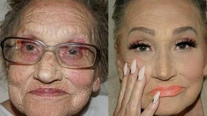 Fantasztikus átváltozás! Ez az idős hölgy az internet új sztárja